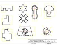 AutoCad 2D 3D - Construções fundamentais