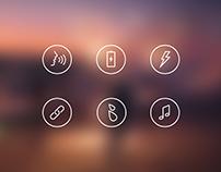 JBL Icon set