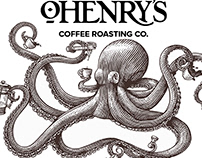 OHenry's Coffees Brandmarks Illustrated by Steven Noble