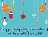 Holiday Cards//britespokes//AlliedTPro
