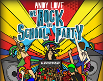 Cover for ''We Rock The School Party'' Music Album