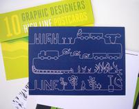 High Line postcard