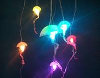 Rainbow LED Jellyfish