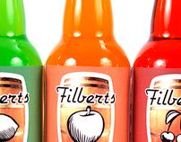 Filberts Soda Rebranding