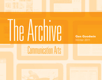 iPad Application Design for Communication Arts Magazine