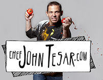 Chef John Tesar - Logo & Celebrity Chef Website