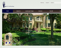 Steele's Landscaping Website