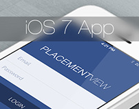 An iOS7 Application Design by Vinfotech