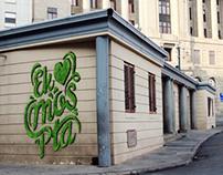 Cool Capital Moss Graffiti