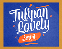 Tulipán Script Typography - New Release!