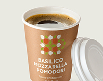 Basilico Mozzarella Pomodori