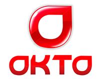 Okto Logo Identity