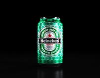 Packaging Heineken   UEFA