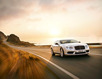 Bentley release V8S model GT and GTC