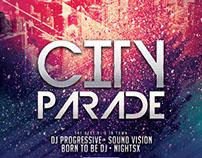 City Parade Flyer