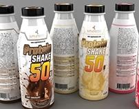 Plastic Bottle Package Product Design 500ml
