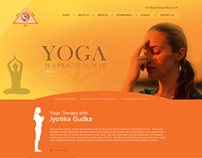 YOGA Classes  Website Design