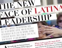 LatinaStyle Magazine Story Layout