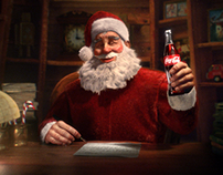 Christmas Past Recreated for Coca Cola
