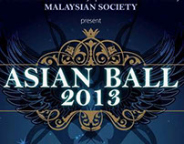 Malaysian X Asian Ball United Kingdom 2013