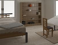 My Bedroom - 3DsMax