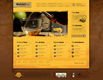 Nutricitea website design