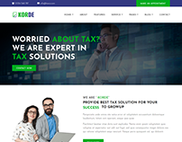 Korde - Finance, Tax, Consulting & Corporate HTML Templ