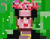 Censorship Frida - Portrait from a famous person