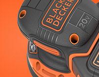 BLACK + DECKER Cordless Random Orbit Sander