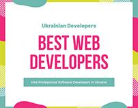 Find the best Web developers in Ukraine