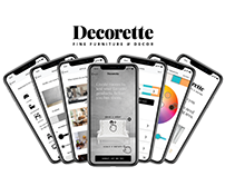 Decorette - UX Design
