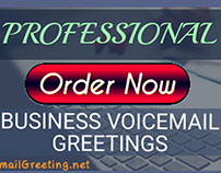 Voicemail greeting pics on behance business voicemail greeting service m4hsunfo