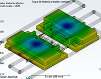 Autodesk Moldflow Batería de Motocicletas