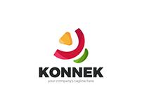FREE - Konnek Logo Template