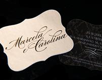 Marcela e Carolina | convite