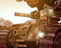 Char B1 tank