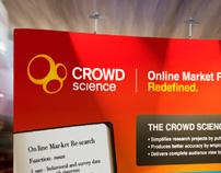 Crowd Science Tradeshow Display