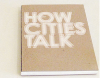 HOW CITIES TALK BOOK