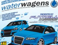 Waterwagens Event Poster