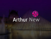 Arthur New / Web site for HR company
