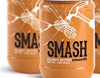 SMASH peanut butter