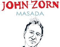 John Zorn - Masada poster