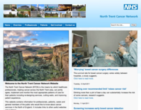 North Trent Cancer Network web site