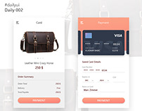 Daily UI - 002_Credit Card Checkout