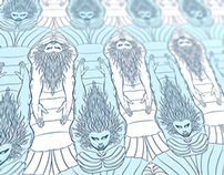 "Mermaids Pattern for ""Casa de Janaina"""