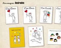 Ilustrações Card