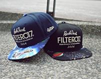 Filter017 RD Fabric Snapback Cap