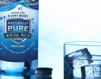 Naturally Pure Water Bottle