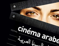 cinéma arabe - identity + poster
