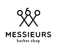 Messieurs Barber Shop Identity